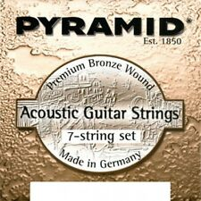 PYRAMID Akustik Gitarre Premium Bronze Saiten Satz 7-saitig .011-.060 Strings