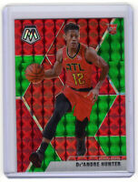 De'Andre Hunter  RC SP  ▪  2019-20 Mosaic Choice RED & GREEN Prizm #239  Rookie