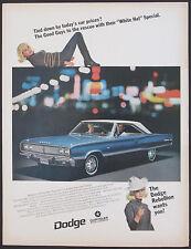 Dodge Coronet 440 Original 1967 White Hat Special Vintage Ad