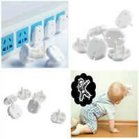 10X/bag Child Guard Against Electric Shock Safety Protector Socket Cover Cap SEA