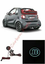 Brabus Style Rear Door Illuminated Logo Badge Mercedes SMART FORTWO 453 1 pc.