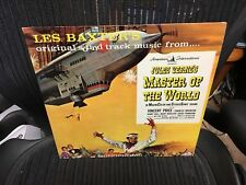 Les Baxter Jules Verne's Master of the World OST LP Vee Jay MONO VG+