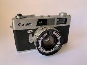 Canon Canonet QL19E Rangefinder Film Camera