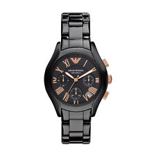 Emporio Armani Unisex Round Wristwatches