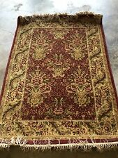 "Rugs Area Rugs  NEW!   Shaw Antiquities Rug  Savonnerie Brick     3' 10"" x 6'"
