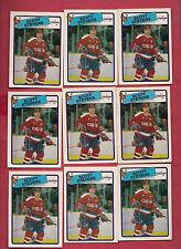 9 X 1988-89 OPC # 60 CAPITALS SCOTT STEVENS  CARD