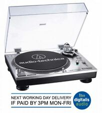Audio-Technica AT-LP120 USB Professional DJ USB Turntable Silver UNWANTED GIFT