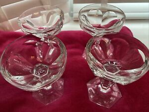Bacarat Crystal Harcourt Champagne Glassesx4