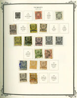 Turkey Early 1800s to 1960s Unsearched Mint & Used Stamp Collection