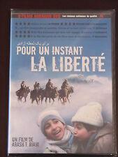 Pour un instant de liberté (DVD, 2010, Canadien, FRENCH SUBT. - RARE)