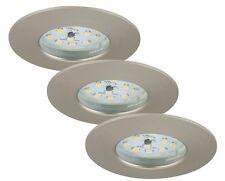 3er SET Briloner LED Einbauleuchte 1-flammig ATTACH dimmbar rund 5,5W farbig NEU