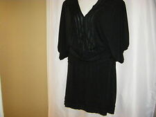 Studio M Woman Black Knit Top & Skirt Women's Plus Size 2X & 3X **2 PIECES**