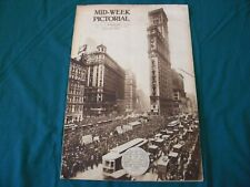 October 16 1919 Mid Week Pictorial Magazine Black Sox World Series Scandal Cover