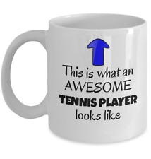 New listing This is what an awesome tennis player looks like - Funny Sport tennis player mug