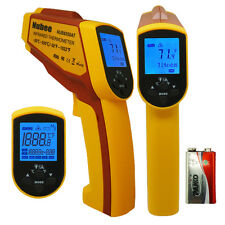 Temperature Gun Non-contact Infrared IR Laser Digital Thermometer -58F To 1022F