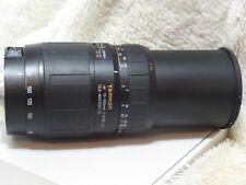 Tamron AF 70-300mm f4/5.6 LD macro zoom lens, Canon AF mount film + digital