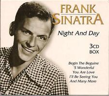 Frank Sinatra 3 CD Box Set Night And Day 42 Songs Excellent