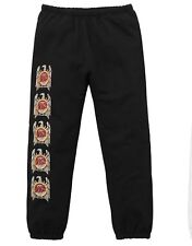 Supreme New York X Slayer Eagle Sweatpants FW16 Black Medium M - NEW RARE!