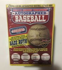 BRAND NEW SEALED! Tristar Hidden Treasures Autographed Baseball Series 9!
