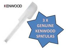 GENUINE KENWOOD PLASTIC SPATULA, CHEF MAJOR KMIX * QTY 3* FOR ALL KITCHEN MIXERS