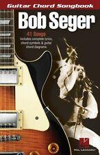 Bob Seger Guitar Chord Songbook Sheet Music Guitar Chord SongBook NEW 000701147