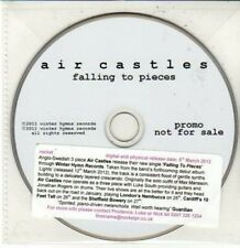 (DG115) Air Castles, Falling to Pieces - 2012 DJ CD