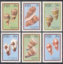 Fiji 1987 Conchiglie/Marino/NATURA/Lumache/molluschi 6 V (s756)