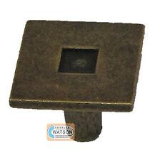35mm Engrasado Efecto De Bronce Contemporáneo Perilla Tirador Gabinete Del Cajón