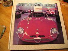 ALFA  ROMEO  MUSEO 1 FAMOUS AUTOMOBILE MUSEUMS  ENGLISH /JAPANESE TEXTS 1979