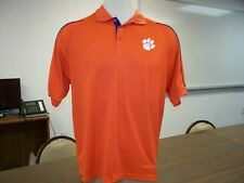 Clemson Tigers NCAA Adult XL Dry Fit Stitched Polo Golf Shirt
