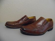 """SANDRO """"COMFORT SOFT AND GO"""" Men's Brown Leather Loafers Size 11 D"""