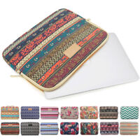 Canvas Notebook PC Case Sleeve Pouch Laptop Bag For 10 11 12 13 14 15 17 inch HP