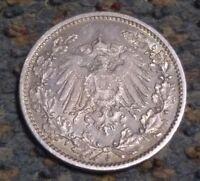 Germany, Empire 1/2 Mark, 1905 J