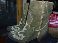 SIXTY SEVEN 67 Shadowridge SUEDE boots ANTHROPOLOGIE 38 /7.5 $198