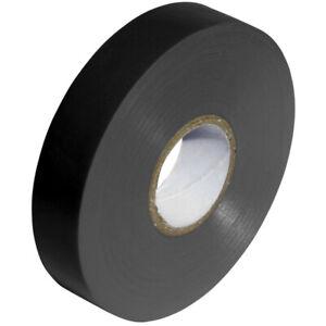 BLACK 19mm x 33m ELECTRICAL PVC INSULATION TAPE FLAME RETARDANT