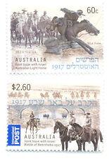 Australia-Battle of Beersheba(3985/6) World War I-military-Horses-mnh set