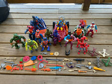 Vtg Mattel He-Man Masters of the Universe Action Figure & Accessory Lot