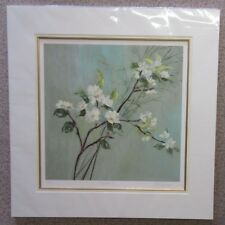 Nel Whatmore, Orientalis I - Large White Blossom Floral Limited Edition Print