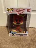 "Funko POP! Shop Exclusive 10"" Inch Huckleberry Hound Vinyl Red Chase IN HAND"