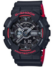 Casio G-Shock  Men's Red/Black Ana-Digita Watch GA110HR-1A