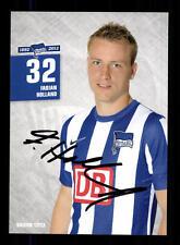 Fabian Holland Autogrammkarte Hertha BSC Berlin 2012-13 Original + A 147604