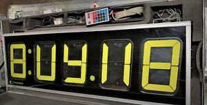 5 Foot Chronomix Sports Events Race 21512-M5 Timer Display Clock Control Sensors