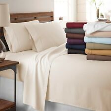 Egyptian Comfort 1800 Series Hotel Quality Bed Sheets Hypoallergenic 4 Piece Set