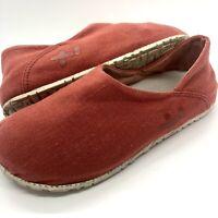 OTZ Cork Lite Coral Linen Comfort Slip On Loafer Shoes Woman's s US 6 & 37 EUR