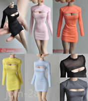 "1/6 Female Sex Open Chest Dress Clothes Fit For 12"" Phicen TBL Figure Body"