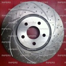 COMMODORE VE V8 SS & WM SLOTTED DISC BRAKE ROTORS PERFORMANCE GROOVED & DIMPLED
