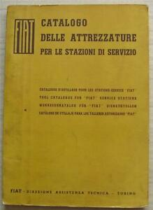 FIAT Car Tools Catalogue For FIAT Service Stations 1965 #501.733 -500-IV-1965