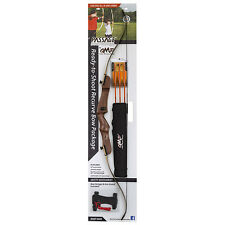 "October Mountain Passage Recurve Bow Package 54"" 20 Lb Right Hand"