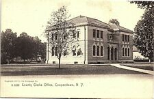 Postcard NY Cooperstown County Clerks Office The Rotograph Co. No. A6556 1905 L1