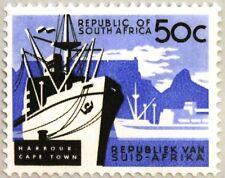 RSA SÜDAFRIKA SOUTH AFRICA 1964 325 Hafen Kapstadt Cape Town Harbout Ships MNH